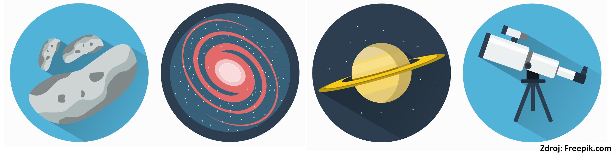 astroicons vedľa seba